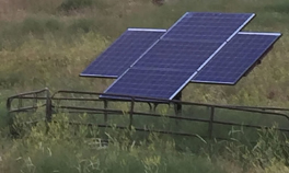 Solar Powered Livestock Water System